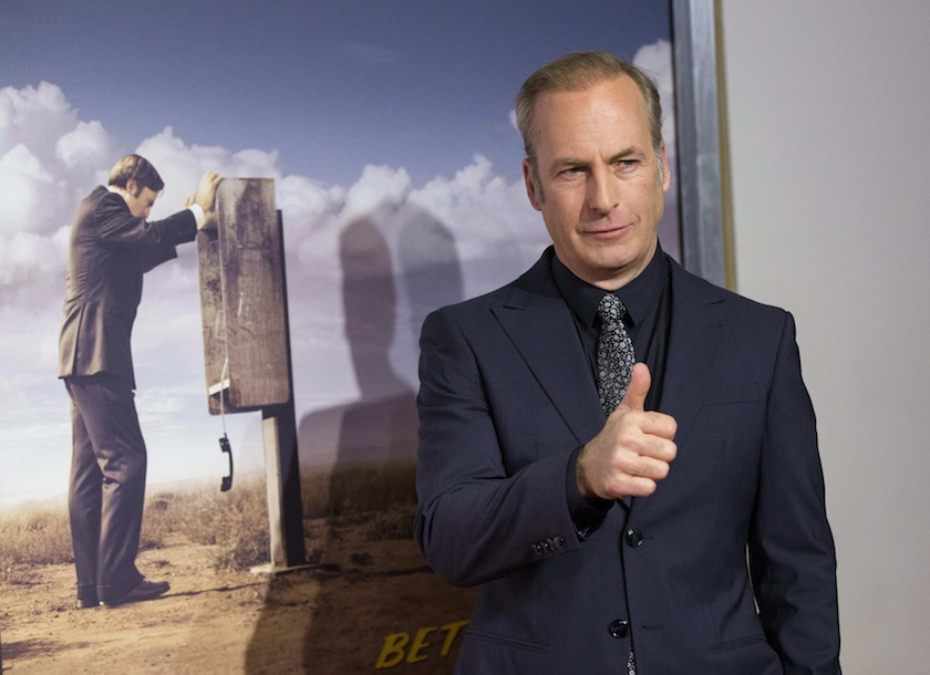 Actor Bob Odenkirk collapsed on the set of his AMC cable network show 'Better Call Saul'. — Reuters pic