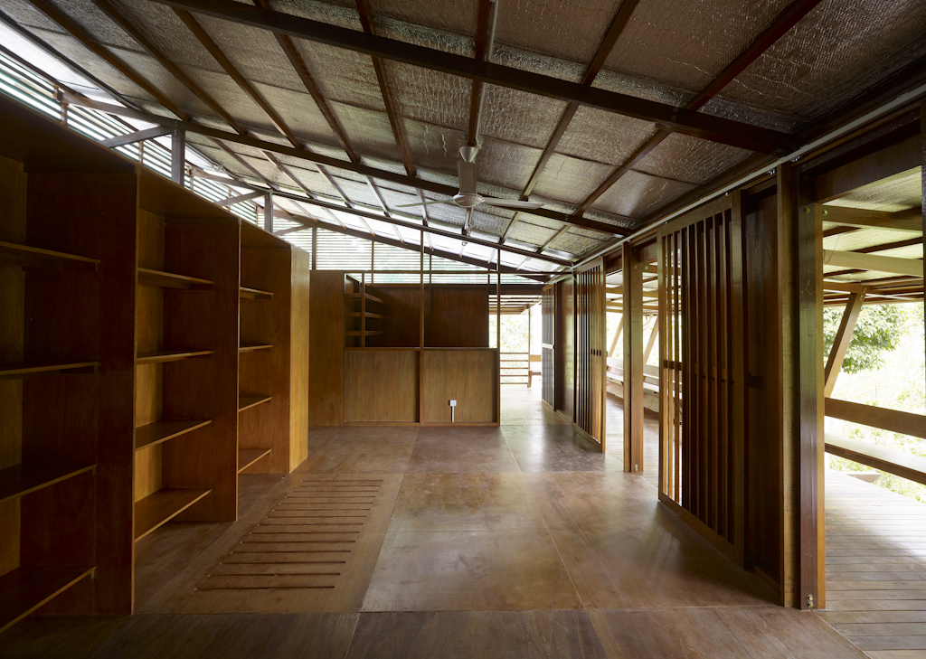 The interiors are kept cool through constant ventilation.