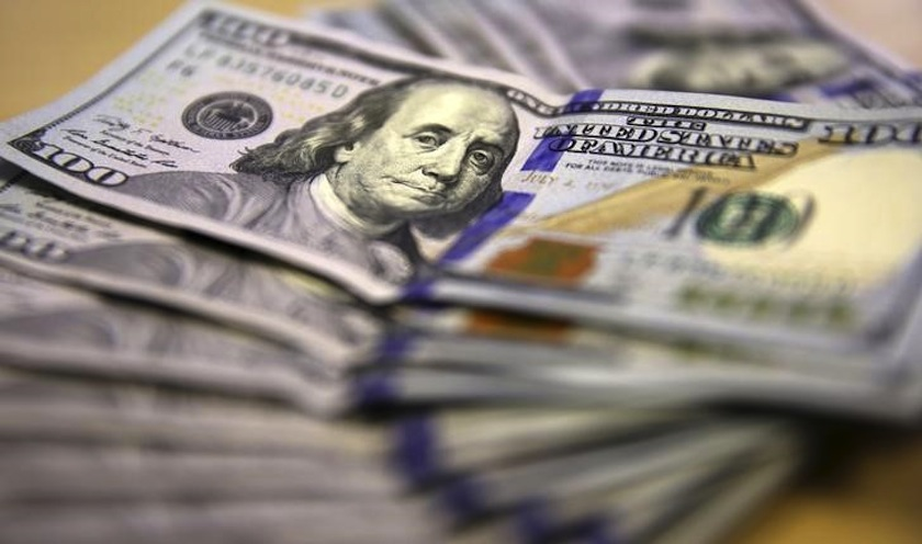 Against the euro, the dollar traded at US$1.1234 (RM4.8158) today. — Reuters pic