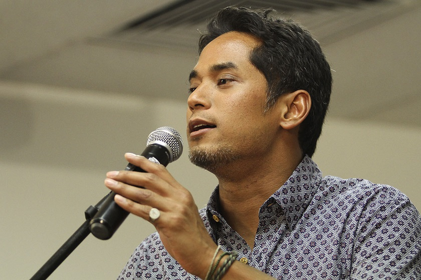 Youth and Sports Minister Khairy Jamaluddin said he would take full responsibility for a RM100 million-corruption scandal plaguing his ministry. — Picture by Yusof Mat Isa