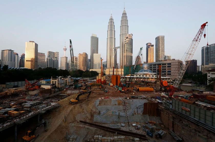 Malaysia's GDP is expected to contract by two per cent in 2020. — Reuters pic