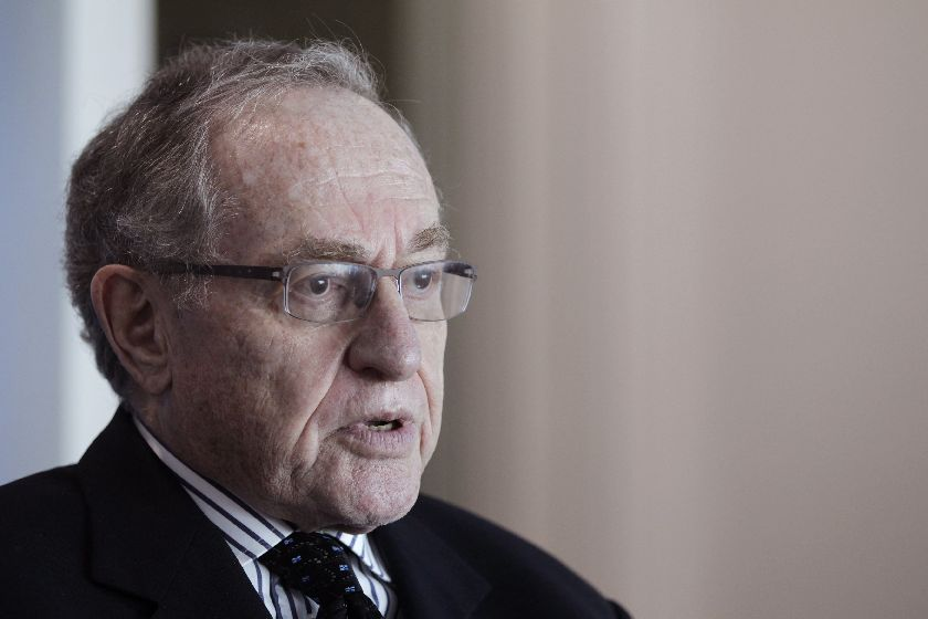 Alan Dershowitz is a Harvard Law School professor and was part of the so-called 'Dream Team' of lawyers who won a 1995 acquittal of former National Football League star and actor OJ Simpson on charges of murdering his wife and Ron Goldman. — Reuters pic