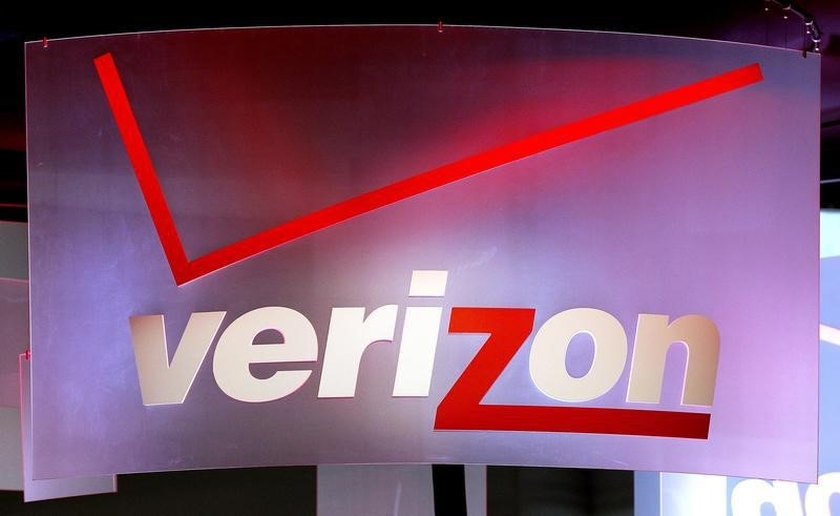 A sign at the Verizon booth during the Consumer Electronics Show in Las Vegas January 8, 2013. — Reuters pic