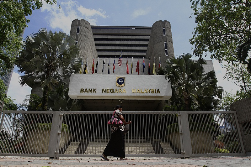 BNM said Malaysia has a good track record with regards to fiscal consolidation, and the government has a proven track record of continuous commitment to medium-term fiscal consolidation plan. — Picture by Yusof Mat Isa
