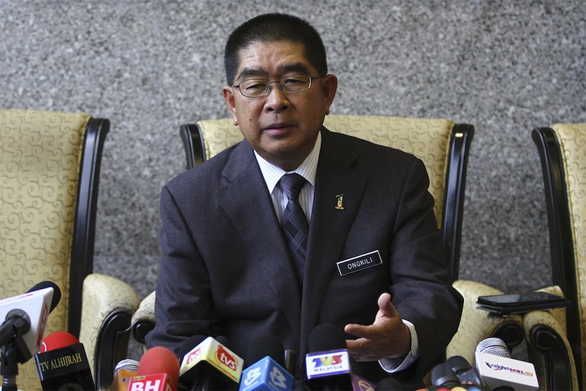 Minister in the Prime Minister's Department Datuk Seri Dr Maximus Ongkili said a review committee will focus on the special grants, including the 40 per cent reimbursable provision for Sabah. — File picture by Yusof Mat Isa