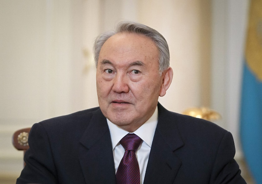 Nursultan Nazarbayev had shocked the country by calling time on his presidency. — Reuters pic