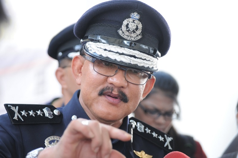 Penang Police Chief Datuk Abdul Rahim Hanafi did not rule out that the host of the party may be linked to the gang. — Picture by K.E. Ooi