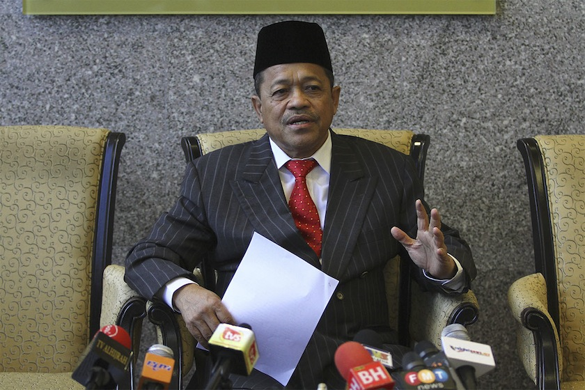 Shahidan said 90 PR1MA projects involving 103,615 housing units had been commenced at various locations throughout the country.— Picture by Yusof Mat Isa