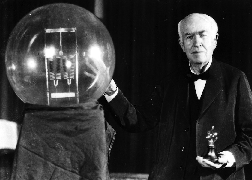 French readers will be able to rediscover Edison's unusual quest in a book titled Le Royaume de l'Au-dela (The Kingdom of the Afterlife) that republishes the text. — File pic