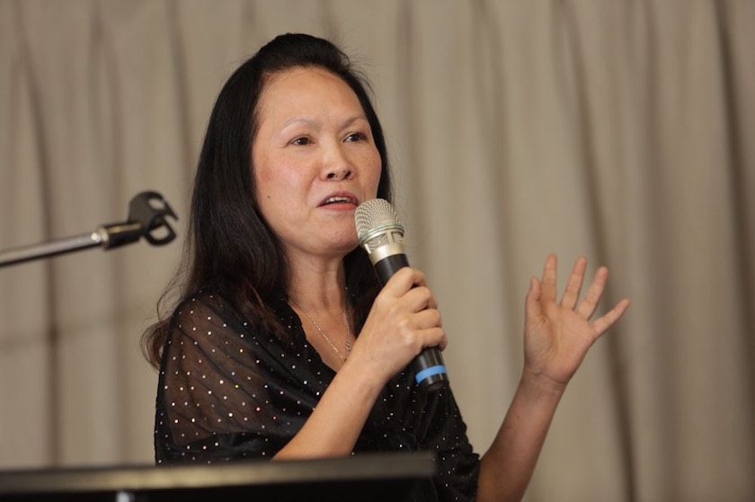 Lina Soo today urged the state government not to call for the state election this year in view of the prevailing Covid-19 pandemic situation in the country. — Picture by Choo Choy May