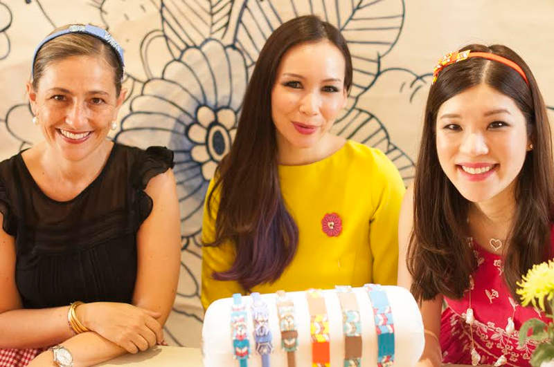 (From left) Lisette Scheers from Nala Designs, Sereni Linggi and Shentel Lee from Sereni & Shentel. — Pictures courtesy of Sereni & Shentel and Nala Designs
