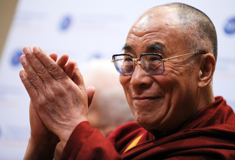 The Dalai Lama's successor is a point of contention in China. — AFP pic