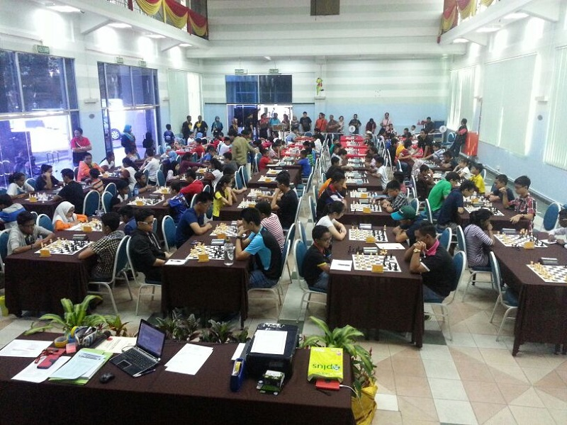 The chess tournament at the Petaling Jaya Community Library last weekend. — file pic