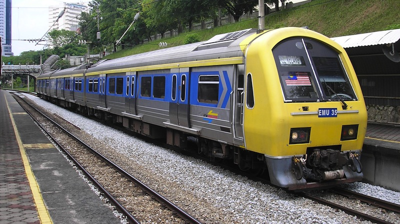 KTMB has announced that it is now charging young passengers the same fare as adults, effectively removing the discounted prices for all school and college students. ― File pic