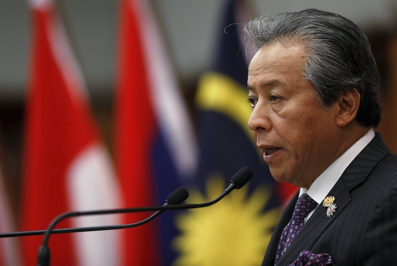 Elaborating on Yang's visit, Anifah, who regarded the one-time China foreign minister as a close friend, said the visit reflected the close ties between China and Malaysia. — Reuters pic
