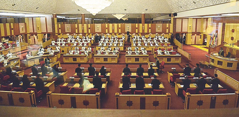 Citing the CMCO, the Perak government will not allow media other than Bernama and RTM to cover the one-day state assembly sitting tomorrow. — Picture by Marcus Pheong