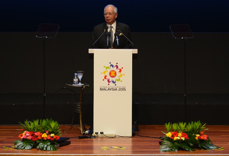 The region's approach has been 'very effective' in ensuring there's no tension with China, Najib told reporters in Kuala Lumpur today. — AFP pic