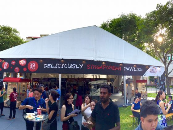 The SG50 Deliciously Singaporean exhibition was launched yesterday at the opening of the World Street Food Congress 2015. ― Today pic