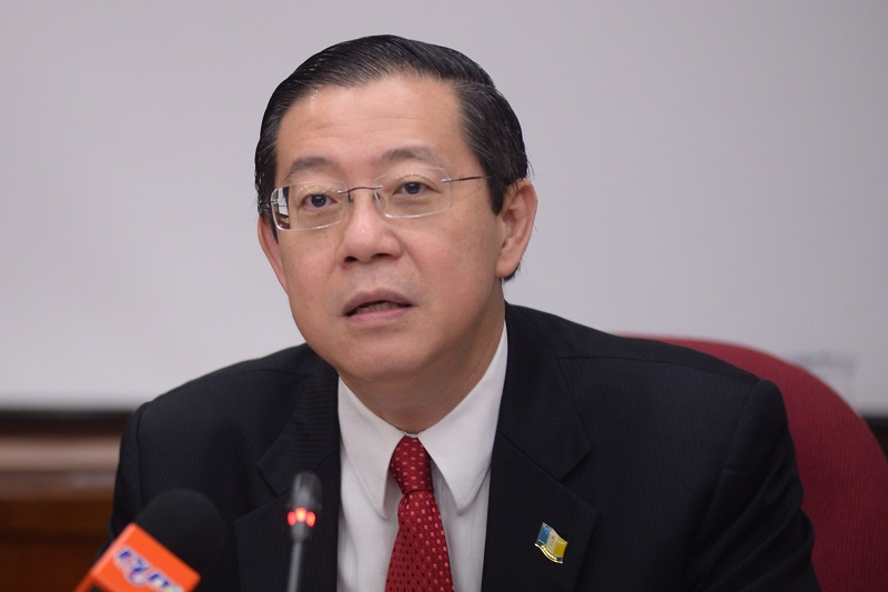 Penang Chief Minister Lim Guan Eng said Penang will not meddle in the issue as refugees fall under the federal government's jurisdiction. — Picture by K.E. Ooi