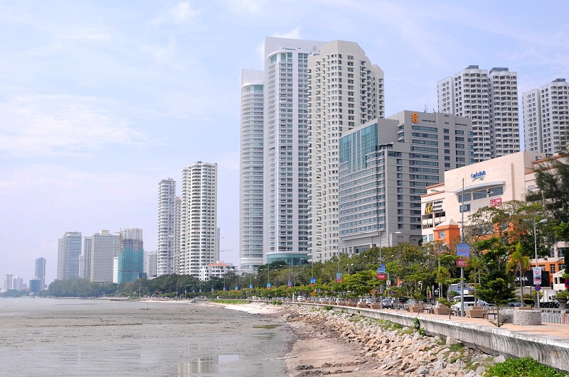 A general view of the Gurney Drive, Penang. May 22, 2015. — Picture by K.E. Ooi