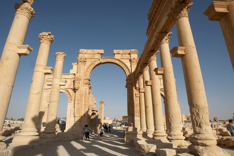 File picture of the historical city of Palmyra, May 13, 2010. — Reuters pic