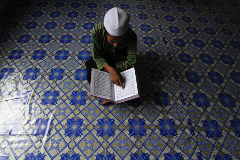 Anjang said Orang Asli children in Gerik are being taught Islam in schools and forced to fast, against their parents' wishes. — Picture by Yusof Mat Isa