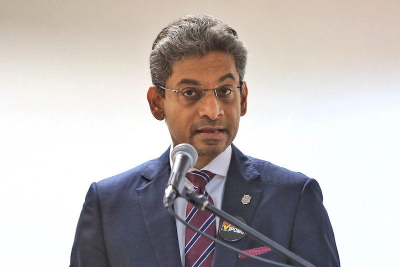 Malaysian Bar president Steven Thiru noted that the National Security Council Bill would provide the government unfettered powers over virtually all the country's institutions and state governments. — File pic