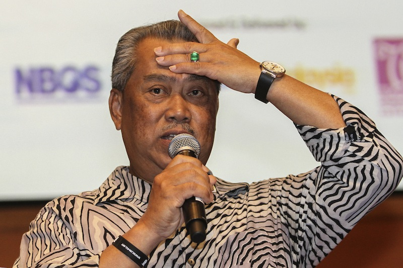 G25 member Tawfik Ismail claimed that many Johor Umno grassroots leaders and members feel that Tan Sri Muhyiddin Yassin (pic) had failed to fight for the state's interests during his tenure as Johor mentri besar and state Umno chief. — Picture by Yusof Mat Isa