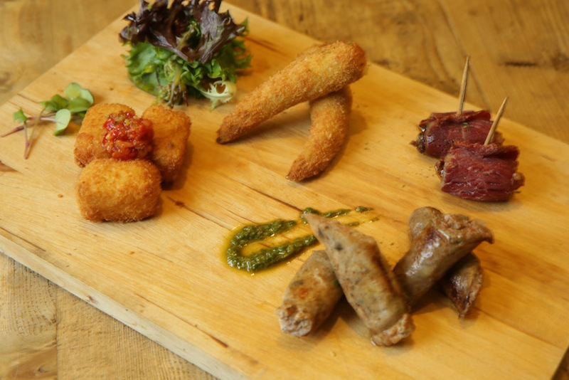 The Nutmeg Platter is one of five platters that are on the new menu.