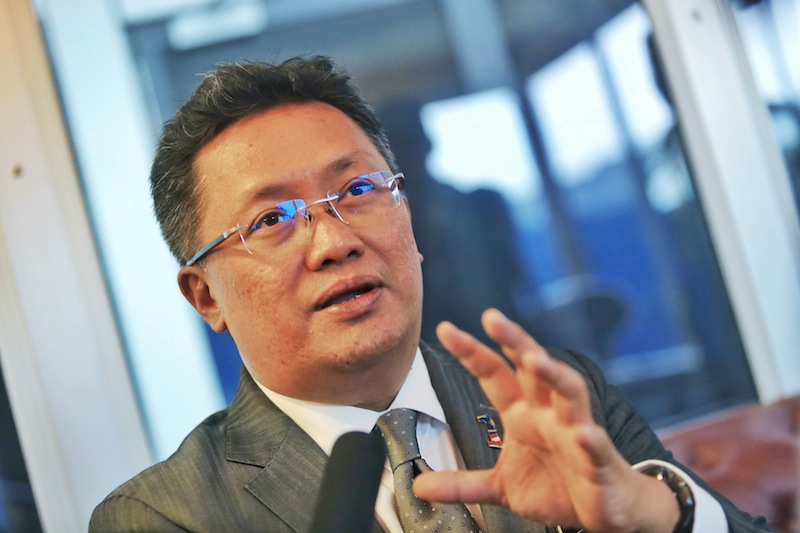 Datuk Abdul Rahman Dahlan wanted the Penang chief minister to explain why the state government agreed to pay for the undersea tunnel project using 110 acres of high-value prime seaside land. —Picture by Saw Siow Feng