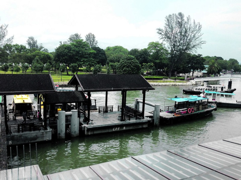 Not many people know about the bumboats at Changi Point Ferry Terminal that pick up passengers headed for the small coastal town of Pengerang. — TODAY pic