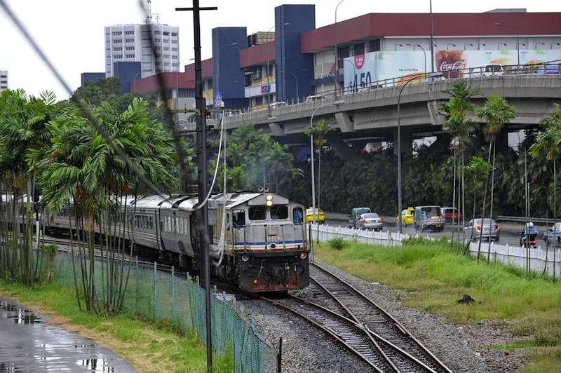 The KVDT2 project involves the rehabilitation of 265 km of KTM Bhd's (KTMB) railway tracks, stretching from Salak South to Seremban and from Simpang Port Klang near Mid Valley to Port Klang. —AFP pic