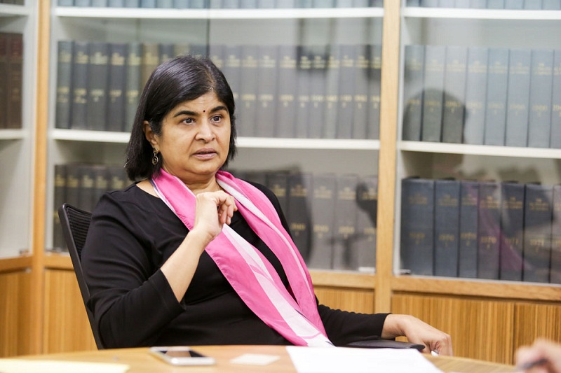 Datuk Seri Salleh Keruak said by refusing to comment, Datuk Ambiga Sreenevasan (pic) will fuel more speculation by the public. — Picture by Choo Choy May