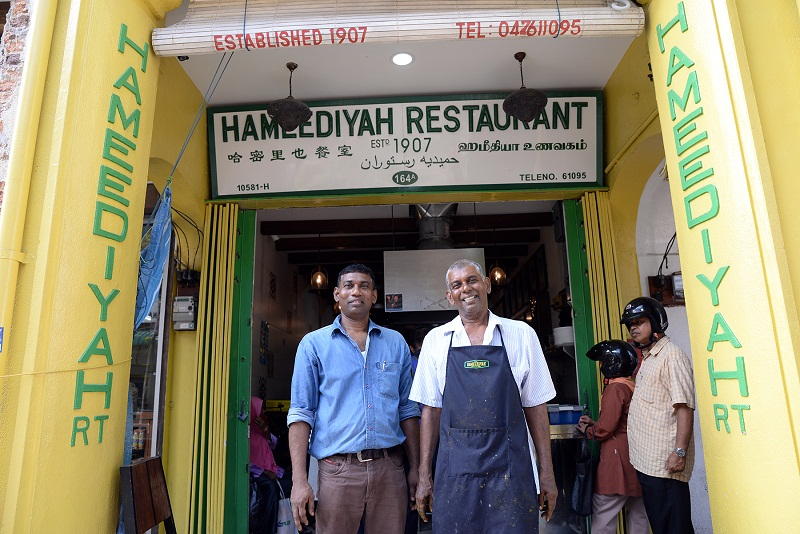 Brothers Syed Ibrahim (left) and Ahamad Seen Pakir Abdul Sukkoor have big plans to turn the Hameediyah brand into a franchise in the future.