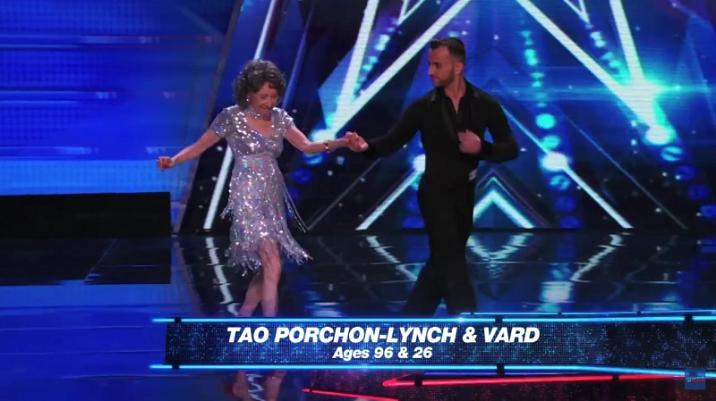 Tao Porchon-Lynch impressed the judges of 'America's Got Talent' and has moved on to the next round.
