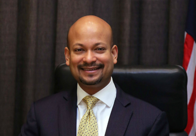 1MDB's chief executive Arul Kanda Kandasamy provided a detailed breakdown of how the company's funds were used. — Pic courtesy of 1MDB