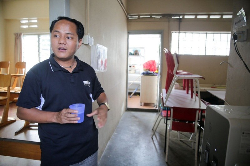 Chin Student Organization chairman Robert Siang Lian Thang said the school needs financial help to sustain.