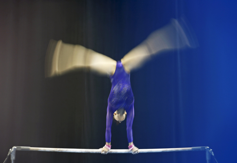 Gymnast Farah Ann Abdul Hadi, was criticised for exposing her 'aurat' and the 'shape of her vagina' by wearing a a leotard and not covering her hair. — File pic