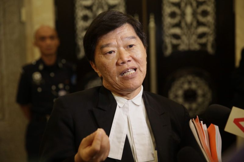Lawyer Lim Heng Seng argued that it was necessary for the government to reveal information relating to its original ban in 1986 on the word 'Allah' in non-Muslim publications. ― Picture by Choo Choy May