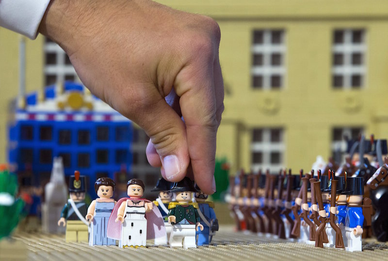 The University of Canterbury team found that a higher proportion of weapons were appearing among Lego's building blocks and war-like scenarios featuring in its themed kit sets. — Reuters pic