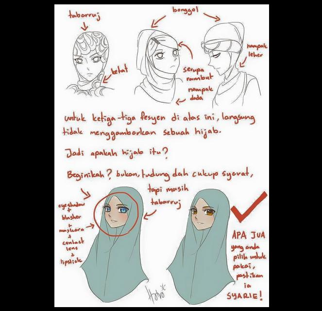 Screencap from Wanita ISMA's Facebook page.