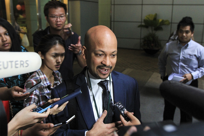 Arul said the public cannot appreciate the kind of investments 1MDB makes and its contribution to the country as they are intangible. — Picture by Yusof Mat Isa