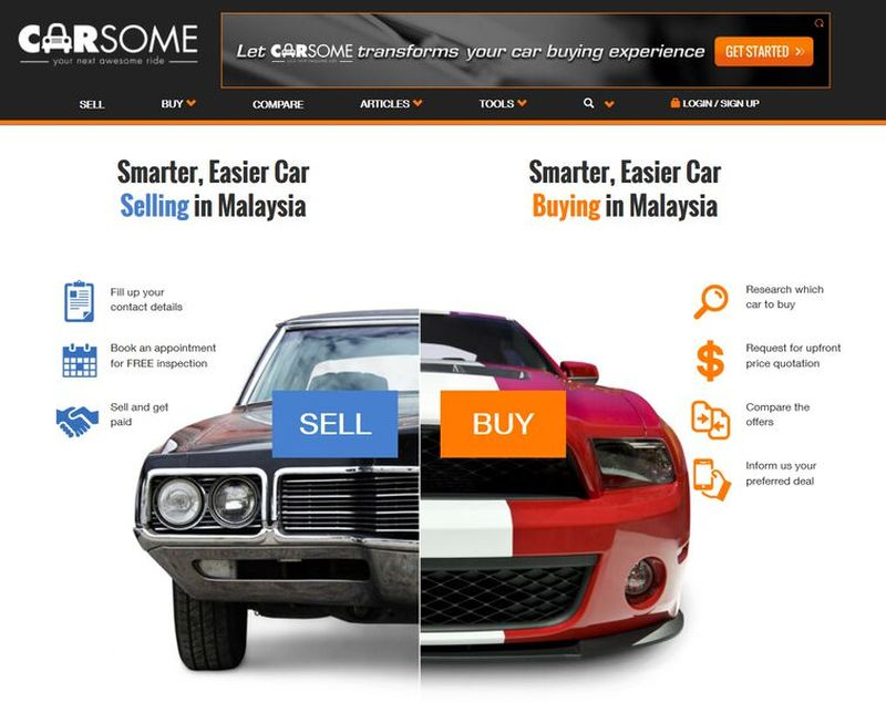 Carsome is a new car buying site that allows buyers to research, compare cars, and obtain upfront price quotes from certified dealers, comes in. ― Pictures courtesy of Carsome