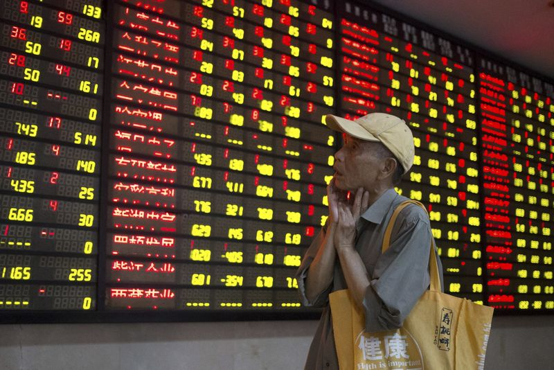 China's blue-chip CSI300 index fell more than 2 per cent to over 10-week lows, the Shanghai Composite Index declined 1.52 per cent to a two-month low and the Hang Seng index slipped as much as 2.65 per cent to its weakest level since December 29. — Reuters pic
