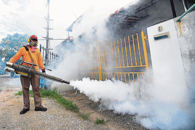 Subramaniam said dengue remained a cause for concern in the country and that Selangor contributed to more than 50 per cent of the cases. — Picture by Marcus Pheong