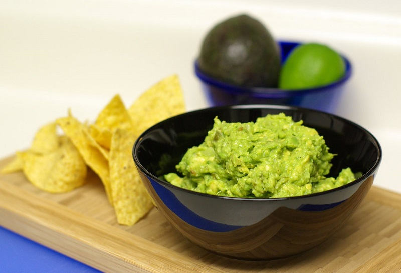 The New York Times' recipe for guacamole with peas launched a raging Internet controversy with the majority of Americans joining in against the idea. — file pic