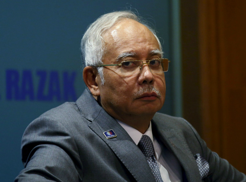 The lawsuit names Najib as well as Umno executive secretary Datuk Abdul Rauf Yusof as the defendants. — Reuters pic