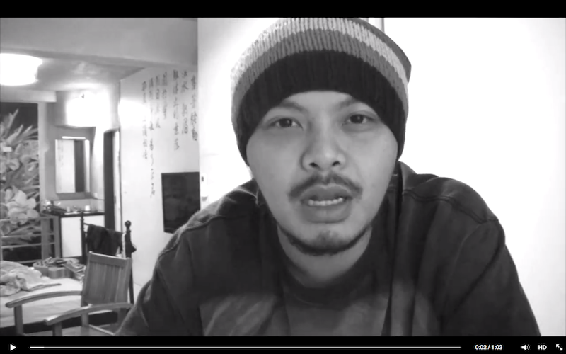 In the video, Namewee showed a G-shock watch, a lighter, a beanie and a pair of boxers and asked viewers what colours the objects were.