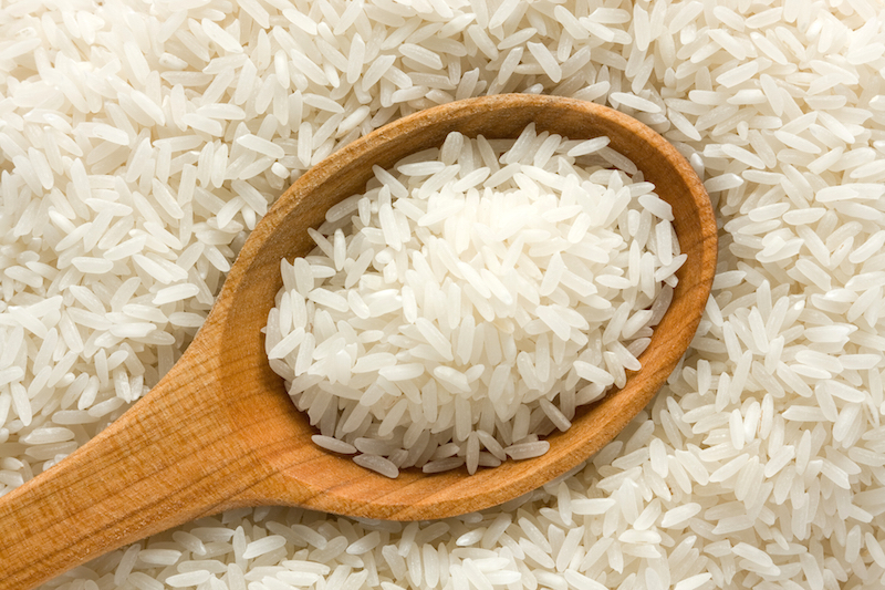 Malaysia reportedly started importing rice from Fukushima back in May, and has imported 29 tonnes so far. — AFP pic