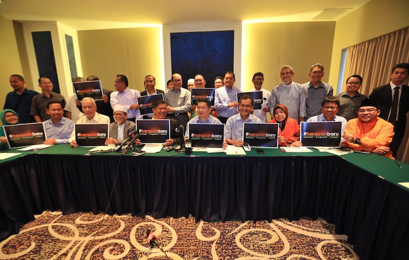 Gerakan Harapan Baru during their meeting in Kuala Lumpur, July 13, 2015. —Picture by Saw Siow Feng